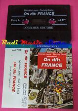 MC MICHELE LEYRE PIERLUIGI SATTA on dit france LOESCHER EDITORE no cd lp dvd vhs
