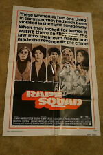 RAPE SQUAD  ACT OF VENGEANCE  AIP  ONE SHEET 1974