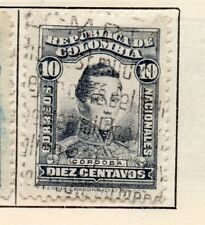Colombia 1917 Early Issue Fine Used 10c. 301073