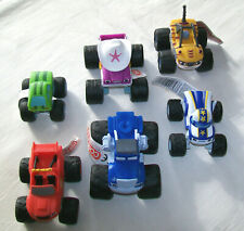 BLAZE & MONSTER MACHINES Small Plastic Cake Topper Toy WHEELS DO NOT TURN/ROTATE