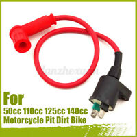 Racing Ignition Coil HT Lead For 50cc 110cc 125cc 140cc Motorcycle Pit Dirt Bike