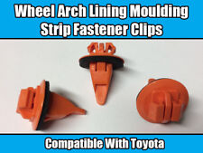 20x New Clips For Toyota Land Cruiser Prado Wheel Arch Trim Orange Plastic