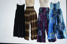 Pants gypsy Aladdin yoga Comfy loose fit beach hippy cotton Genie Harem tie dye