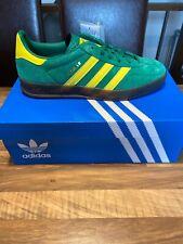 BNIB Adidas Originals Gazelle Indoor - Bright Green / Yellow / Gum Sole - UK 7