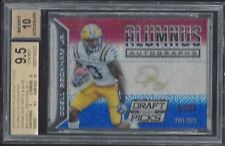 ODELL BECKHAM JR 2015 PRIZM DRAFT ALUMNUS RED WHITE BLUE AUTO #D 1/1 BGS 9.5 10