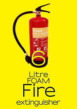 6 Lite FOAM (AFFF) Fire Extinguisher (6L/6LTR) - Bsi KITEMARKED