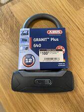 """Abus Granit Plus 640 Lock, 3.25"""" x 5.9"""""""
