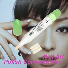 1Pcs Refers To The Edge Pen Portable Polish Pens Corrector Remover Nail Art Tool