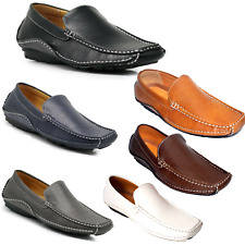 Men's  Casual Leather Lining Moccasins Loafer Slip On Driving Comfort Shoes