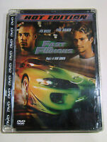 DVD - Fast and Furious. Hot Edition (2001) OTTIMO!!! Super Jewel Box! Vin Diesel