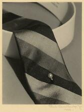 Photo:PHOTO ONLY,Tie,stickpin,collar,1922,Paul Outerbridge,Photographer 6585