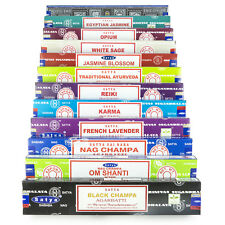 Satya Sai Baba Nag Champa Om Shanti Variety Set L 12 x 15 gram Boxes of Incense