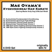 Andy Hug's Kyokushinkai-Kan Karate Series (6 DVD Set)