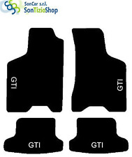 Tapis Volkswagen Lupo. Décoration : Gti + 4 Fix Universel