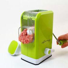 MULTI FUNCTION GREEN MANUAL MEAT GRINDER MINCER PASTA SAUSAGE STUFFING MAKER