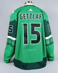 2020-21 Ryan Getzlaf Anaheim Ducks Game Worn St. Patrick's Day Jersey