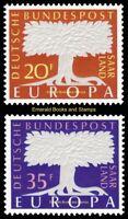 EBS Germany 1957 SAAR - Europa CEPT - Michel 402-403 MNH**