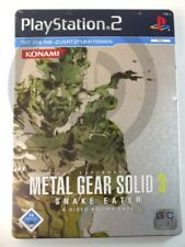 !!! PLAYSTATION ps2 gioco Metal Gear Solid 3 Snake Eater, usati ma ben!!!