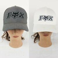 Fox Racing lot of 2 Hat Motor cross Flex fit size L/XL Black White