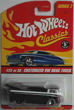 "Hot wheels classics-VW DRAG CAMION ""SPECIAL violet"" Neuf/Neuf dans sa boîte"