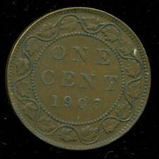 1903 Canada Large Cent King Edward VII  O111