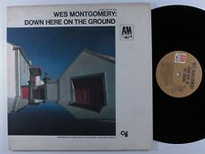 WES MONTGOMERY Down Here On The Ground A&M LP VG++ gatefold ~