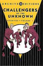 DC ARCHIVES CHALLENGERS OF THE UNKNOWN VOL 1 HC MINT