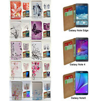 For Samsung Galaxy Note Series - Butterfly Vector Print Mobile Phone Case Cover