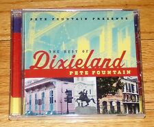 Pete Fountain Presents The Best of Dixieland by Pete Fountain (CD, Verve 01) NEW