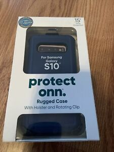 Protect Onn Rugged Case For Samsung Galaxy S10