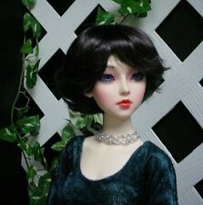 "Doll Wig, Monique Gold ""Roxie"" Size 6/7  - Nearly Black"