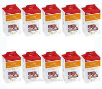 10 x Canon RP-108 4x6 Paper/Ink, 108 Sheets for SELPHY CP820 CP910 CP1200 CP1300