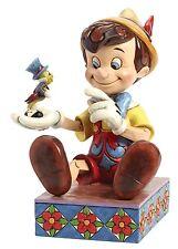 Disney Traditions Pinnocchio Jiminy Cricket 75th Anniversary Figure 19cm 4043647