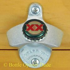 DOS EQUIS LAGER Mexican Beer BOTTLE CAP Starr X Wall Mount Bottle Opener NEW!!