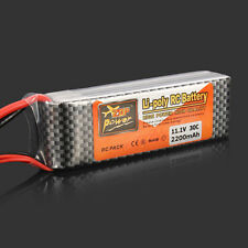 ZOP Power 11.1V 2200MAH 30C Lipo Battery XT60 Plug RC Helicopter Quadcopter NEW