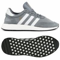 adidas ORIGINALS INIKI BOOST TRAINERS WOMEN'S SHOES GREY B GRADE SIZE 3.5
