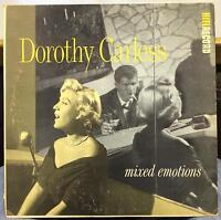 DOROTHY CARLESS mixed emotions LP VG R-402 Vinyl 1956 Mono USA Original