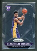 2015-16 D ANGELO RUSSELL PANINI PRIZM ROOKIE RC #322