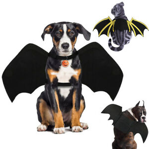 Halloween Pet Dog Cat Bat Wing Cosplay Prop Costume Outfit Wings Cat Photo Props