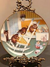 """The Hamilton Collection """"Rock & Rollers� From Country Kitten By Gre Gerardi 1988"""