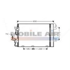 Kondensator Klimaanlage - van Wezel 37005366