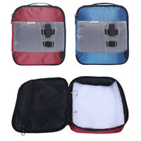 Soft Bait Binder Bag Fishing Lure Storage Wallet Tackle Box for Worms and Jigs