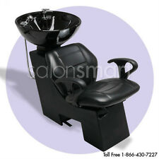 Shampoo Backwash Sidewash Unit Bowl Chair Salon Equipment Wash Basin -kensh