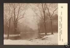 SALON du PETIT PALAIS 1918 (PARIS) HIVER par A. RIGOLOT