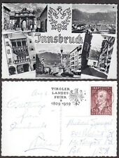 1959 Austria Real Photo Postcard - Innsbruck - Multiview - RPPC