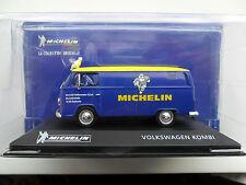VOLKSWAGEN Kombi Transporter 2 Michelin Colección officielle 1/43 Diecast + hombre