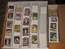 2010 Topps Large  Baseball Base & Insert Cards Lot Approximately 1910 Cards