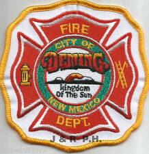 "Deming, NM   ""Kingdom of the Sun"" (4"" x 4"" size)  fire patch"