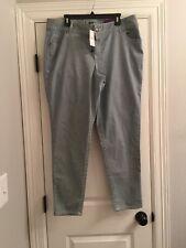 Lane Bryant 20 Railroad Skinny Jeans
