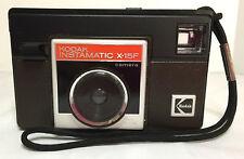 Kodak Instamatic X-15F 126 Camera with Strap Clean Excellent Condition Vintage